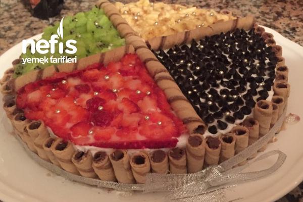 Rulokatlı Pasta Tarifi