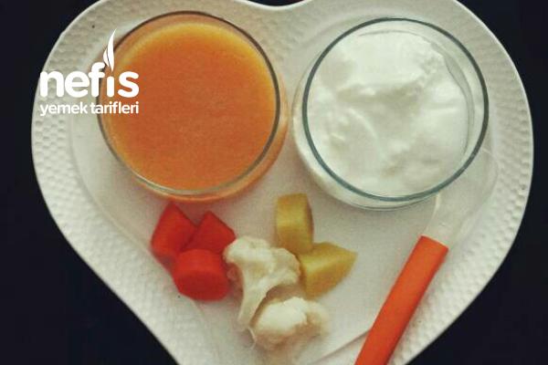 Sebze Çorbası ( 7 Ay) Tarifi