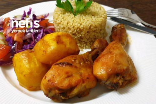 Soslu Patates Tavuk Yemeği Tarifi