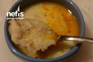 Terbiyeli Ve Pirinçli Tavuk Çorbası Tarifi