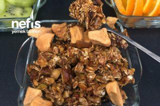Granola Krokan (Sağlıklı Atıştırmalık) Tarifi