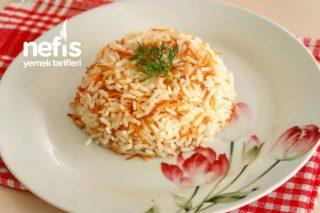 Teremyağlı İnce Şehriyeli Pirinç Pilavı Tarifi
