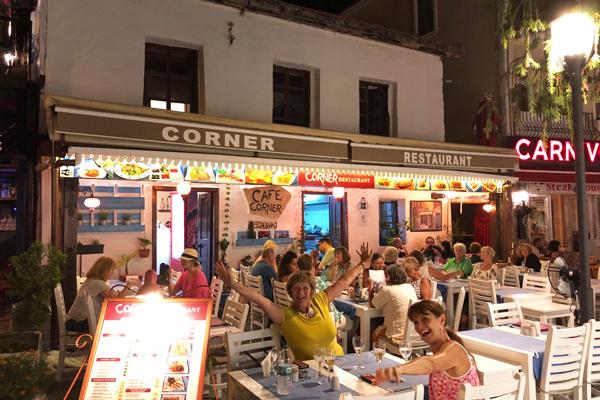 cafe corner restaurant kaş