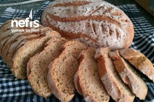 Kepekli Tam Buğday Ekmeği Tarifi