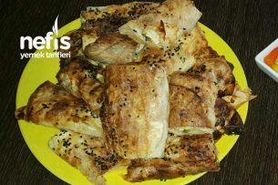Tavuklu Garnitürlü Börek Tarifi