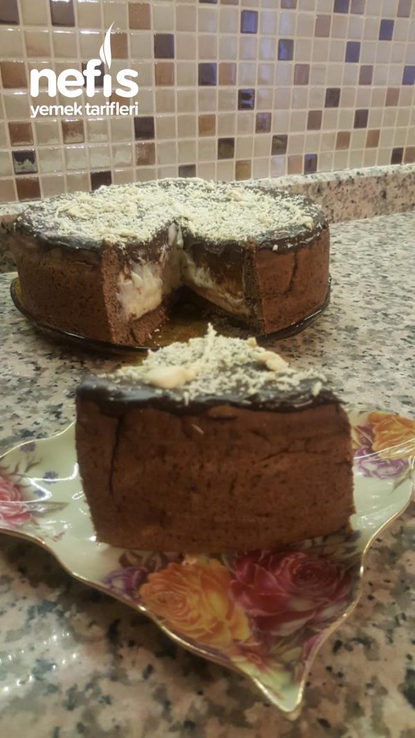 Teremyağlı Lezzeti De Şekli De Şahane Pasta