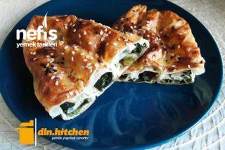 Teremyağlı Nefis Ispanaklı Börek Tarifi