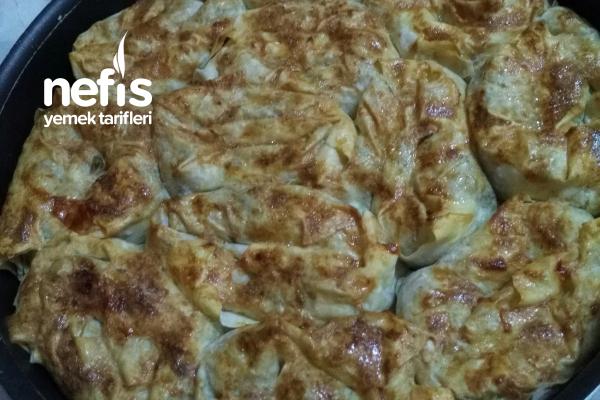 Teremyağlı Patatesli Gül Böreği Tarifi