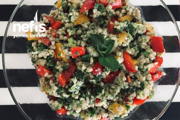 Sağlıklı Karabuğday Salatası Tarifi