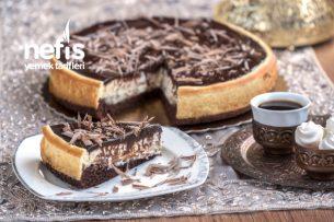 Teremyağlı Çikolatalı Brownie Cheesecake Tarifi