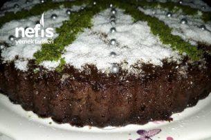 Tart Kalıbında Islak Kek ( Portakal Aromalı ) Tarifi