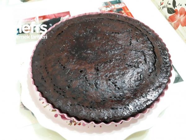 Teremyagli Tart Kalibinda İslak Kek( Portakal Aromali )
