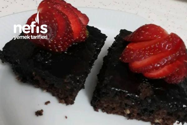Teremyağlı Browni Tadında Islak Kek