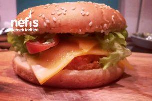 Crispy Chicken Burger (Kolay Tarif) Tarifi