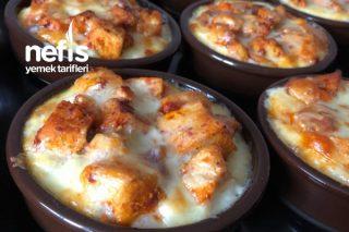Fırında Püreli Patates Ve Tavuk Sote Tarifi