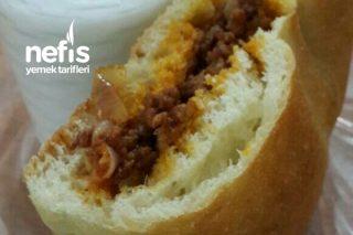 Kıymalı Ekmek - Atıştırmalık Ya Da Çocuklar İçin Tarifi