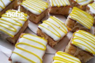 Limonlu Çikolatalı Minik Kekler Tarifi