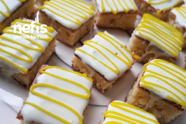 Limonlu Çikolatalı Minik Kekler