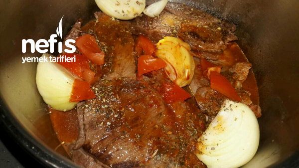 Püreli Biftek