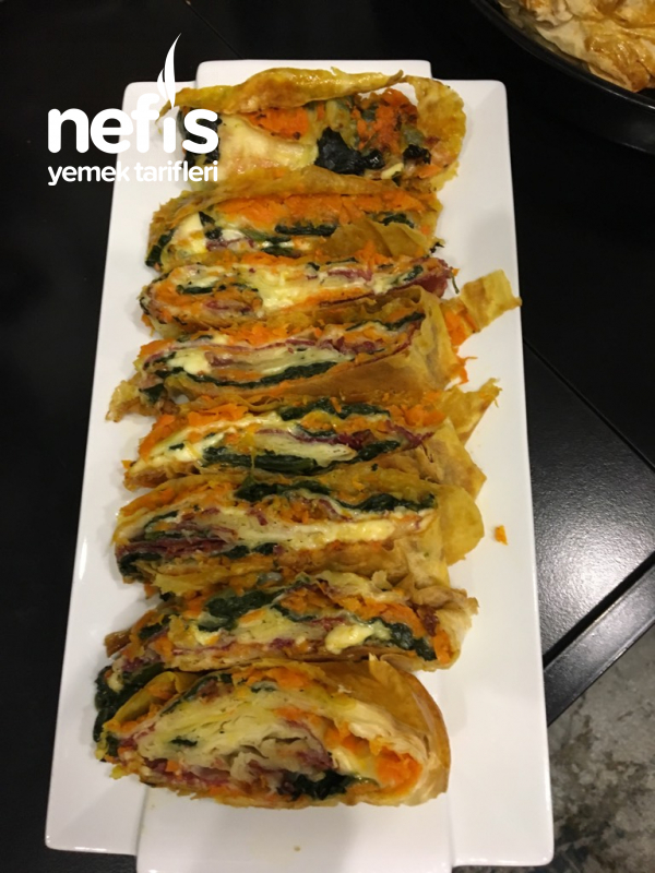 Sebzeli Teremyağlı Paçanga Böreği