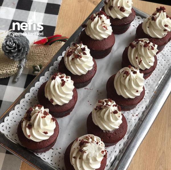 Teremyağlı Çikolatalı Cupcake