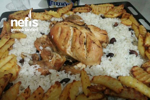 Teremyağlı İçli Tavuk Tarifi