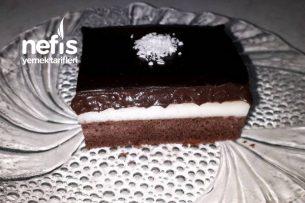 Çikolata Soslu Pudingli Pasta Tarifi