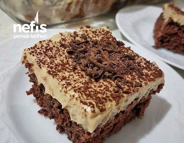 Kahveli Cikolatalı Kek