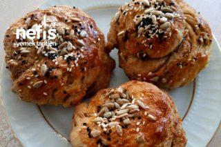 Isparta'nın Meşhur Nokulu (Haşhaşlı Tahinli Tuzlu Çörek) Tarifi