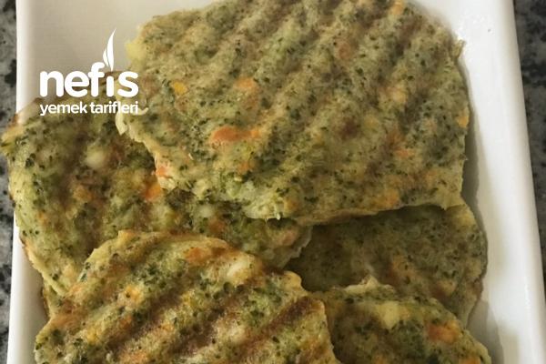 Tost Makinesinde Brokoli Köftesi Tarifi