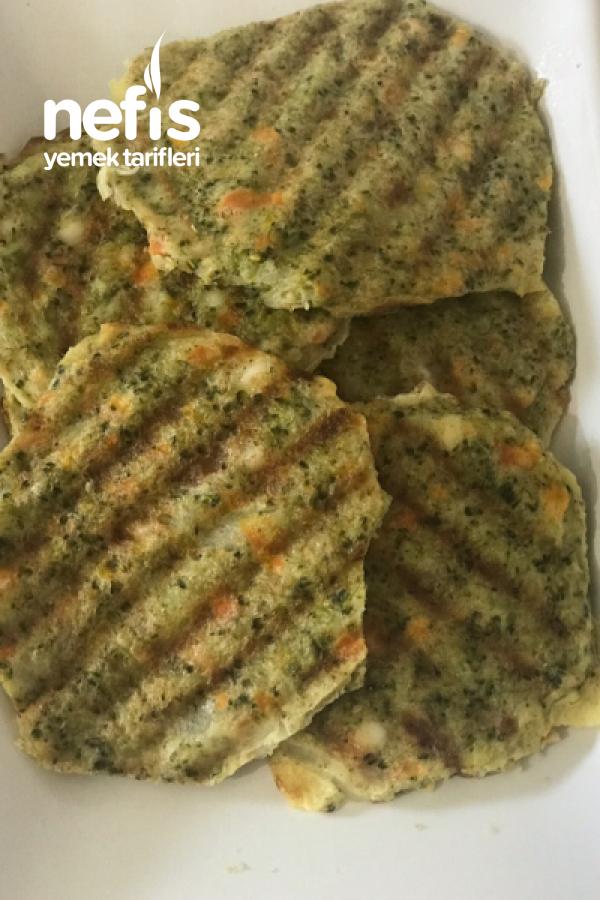 Tost Makinesinde Brokoli Köftesi