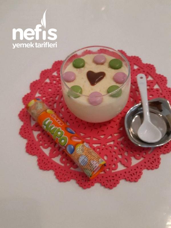Vanilyalı Krema Pudding