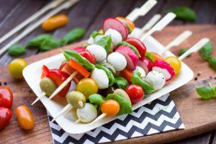 yaz sebzeleri