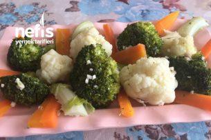 Karnabahar Brokoli Salatası (Mükemmel Sirkeli Sos) Tarifi