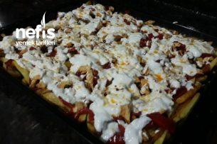 Sebze Ve Tavuk Kebabı Tarifi