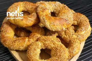 Simit Tarifi (Pastane Simitlerine Taş Çıkaran Lezzet)