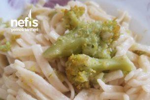 Erişte Makarnası (Brokolili) Tarifi