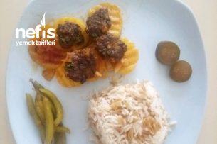 Fırında Köfteli Sebze Yemeği Tarifi