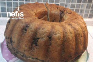 Kek Kalıbında Zeytinli Çörek Tarifi