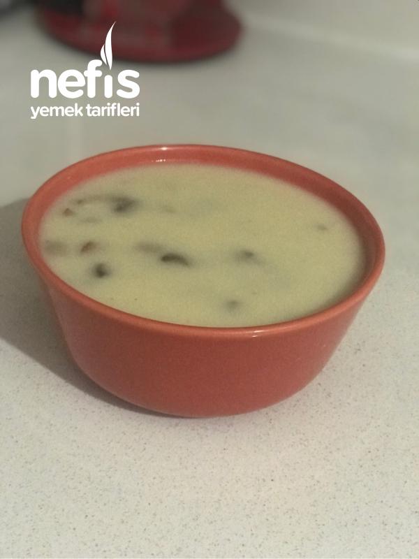 Mantar Çorbası (nefis Restoran Lezzeti)