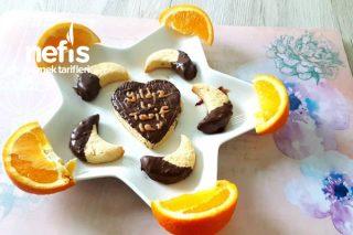 Portakallı Çikolatalı Kurabiye 2 Tarifi