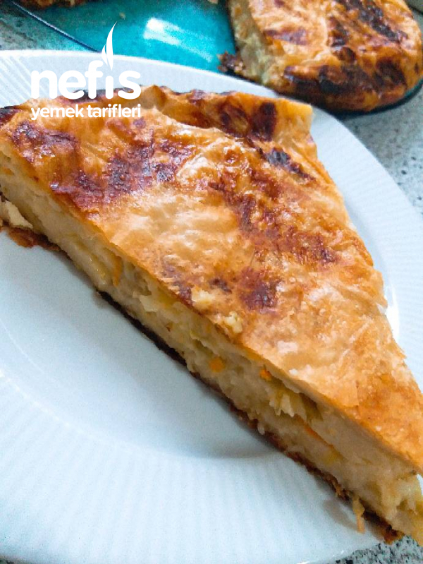 Sebzeli Tava Böreği