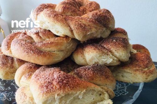 Tarçınlı Açma Çörek Tarifi