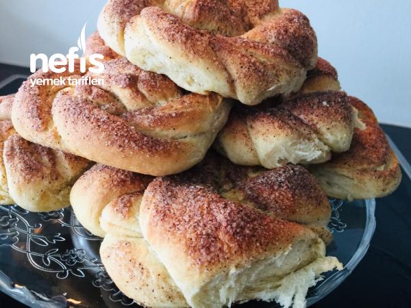 Tarçınlı Açma Çörek