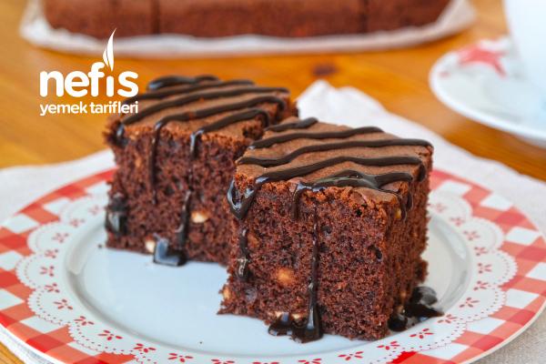 Browni Tadında Fındıklı Kek Tarifi