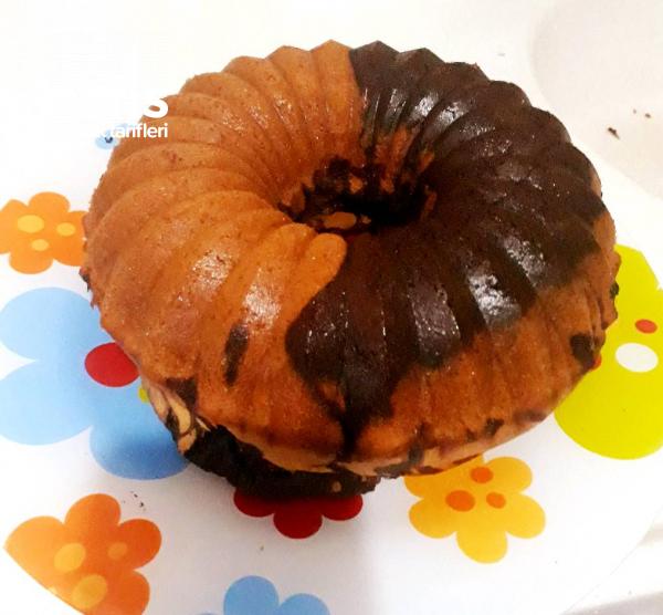 Bulut kek… (çikolatalı Çaylı Kek)