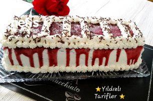 Bisküvili Yaş Pasta 4 (videolu) Tarifi