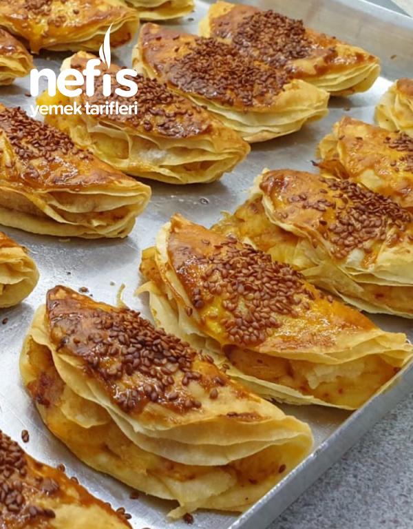 Çıtır Çıtır Patatesli Börek