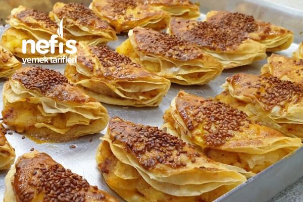 Çıtır Çıtır Patatesli Börek Tarifi