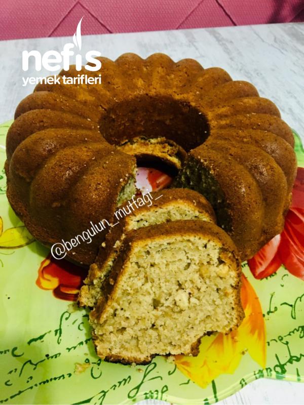 Elmalı Fındıklı Tarçınlı Kek